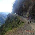 """C'est celle qui interprête le mieux ce chemin de la """"Vallée de la mort"""" (3700 m)"""