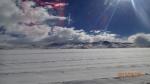 Lipez J2 - faut pas se tromper hein ce n'est pas le Salar encore ...c'est de la neige!!! (Quitter le Québec durant l'été pour ça...)