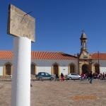 Sucre - quartier Recoleta en haut du mirador (quelle heure est-il?)