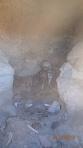 Lipez J3 - San Juan - Museo de Momias (le squelette conservé à l'intérieur des rocaux volcanique....)