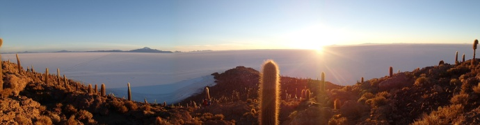 Salar J4 - enfin le voilà (ce désert de sel fait plus de 12000 km2)