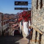 Sucre - un aperçu des cotes ( tout près du Mirador)