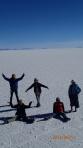 Salar J4 - les formes sont causées par l'oxygénation du désert
