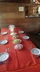 Pampas - un des lunch servit