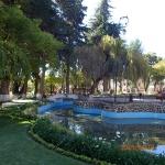 Sucre - Parque Bolivar (les fontaines ne marche pas à la saison sec)
