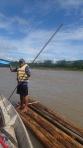 Jungle - mais en radeau avec notre guide capitaine Eber