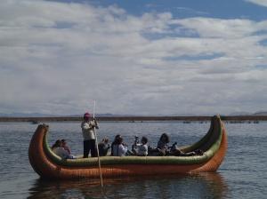 Uros - un autre petit tour de bateau