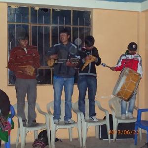 Amantani - et les musiciens