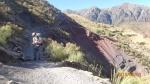 Sucre-Trek (J1- Chataquilla - chemin un peu serré juste avant... Nath était un peu sur le nerf)