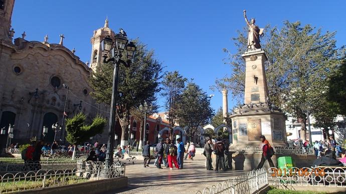 Potosi - plaza