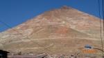 Potosi - Vue de la montagne où il extrait l'argent