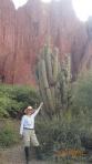 Tupiza - Ça se sont des vrais cactus.... !