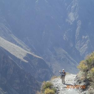 Arequipa - Tour au Cañon del Rio Colca: on se sent très petit là-bas