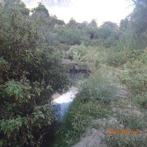 Arequipa - Tour au Cañon del Rio Colca: bon enfin on est rendu à notre thermes naturelle là où on va prendre le bain