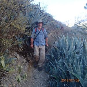 Arequipa - Tour au Cañon del Rio Colca: mon tarzan