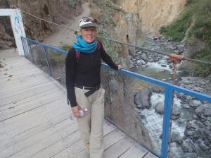 Arequipa - Tour au Cañon del Rio Colca: La fée des bois à la recherche de piste