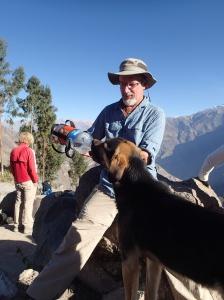 Arequipa - Tour au Cañon del Rio Colca: Le copain à Denis