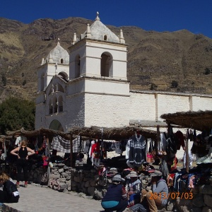Arequipa - Tour au Cañon del Rio Colca: On ne sait pas trop pourquoi on a arrêté ici