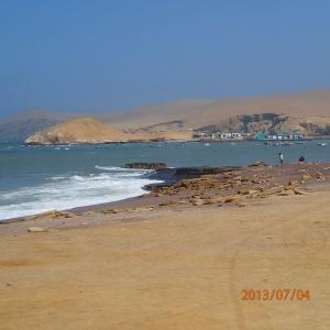 Paracas - Petit port de pêche à même la réserve où on mange du très bon Ceviché