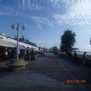 Paracas - Le boardwalk du village petit mais sympa