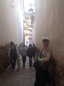 Cusco - Un des des plus beaux petit passage piétonnier du vieux secteur