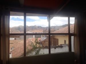 Cusco - oups...et sa vue ...c'est quand même important