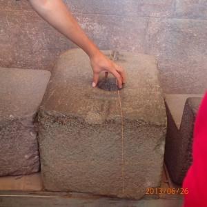 """Cusco - Tour de ville: Templo Del Sol... Toutes les pierres étaient taillées parfaitement avec des clés de voûte pour qu'elles s'emboîtent comme des """"légos""""... incroyable le travail!"""