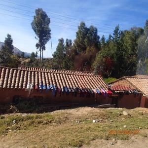 Cusco - En roulant ...un aperçu des cordes à linge...pas fou!