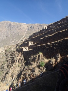 Cusco - Tour vers la Vallée Sacrée: la forteresse à Ollantaytambo: