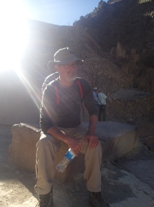Cusco - Tour vers la Vallée Sacrée: la forteresse à Ollantaytambo...petite pause