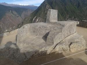 Cusco - Machu Picchu: C'est l'horloge du temps des Incas...