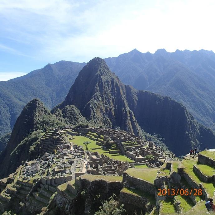 Cusco - Machu Picchu: pis le voyez-vous mantenant le visage Inca?