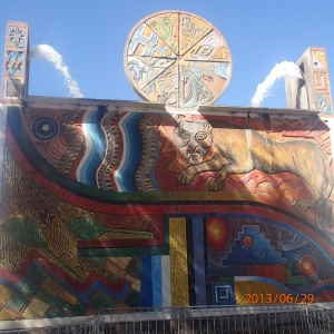 Cusco - Paqcha de Pumaqchupan...Le Puma est trèes important dans la croyance Inca
