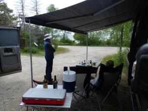 Le terrain de camping abandonné